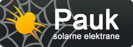 Pauk d.o.o. solarne elektrane logo